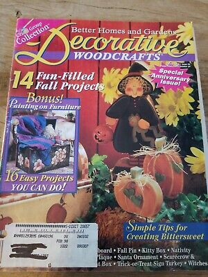 Better Homes & Gardens Decorative Woodcrafts Magazine October 1996 Decorative Pa
