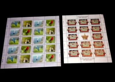 1997/1998 Canada Stamp Sheets 1634a & 1722! mint MNH! Full Sheets! Penny Post