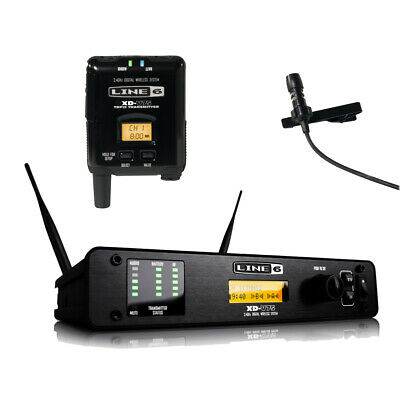 Line 6 Factory Refurbished XD-V75L Digital Wireless Lavalier Microphone System