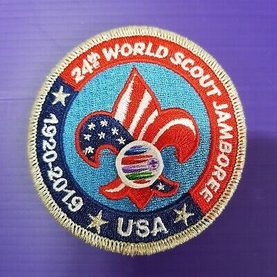 24th World Scout Jamboree 2019 USA Contingent PATCH / OFFICIAL CONTINGENT BADGE