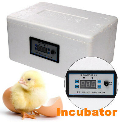 22 Egg Digital Automatic Incubator Chicken Poultry Hatcher Temperature Control
