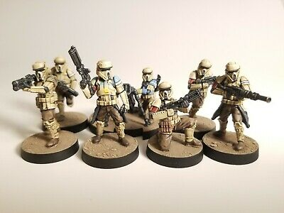 Star Wars Legion Painted Shoretroopers  Expansion, Rogue One, Scarif troopers