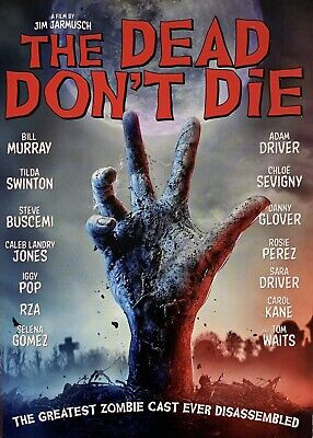 THE DEAD DON'T DIE   <   DVD   >   *New *Factory Sealed