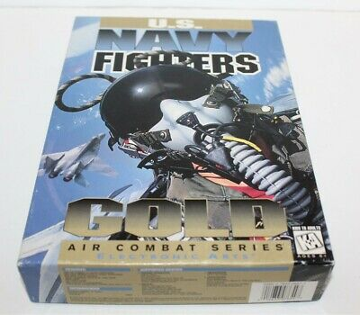 U.S Navy Fighters PC Game Big Box Version Box (No Game)