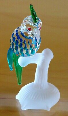 Asfour Diamond Crystal Cockatoo : Made In The Czech Republic : Mint Condition