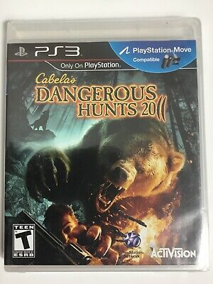 Cabela's Dangerous Hunts 2011 - Sony PlayStation 3, PS3, New, Factory Sealed
