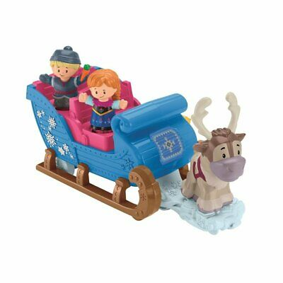 Fisher Price Little People Disney Frozen Kristoff's Slee met Licht