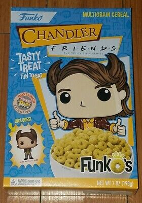 Funko Pocket Pop Cereal Chandler Friends TV Funko's Box Lunch Exclusive In Hand