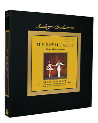 Ernest Ansermet The Royal Ballet Gala Performances 5 vinyl LP box set 45 RPM NEW