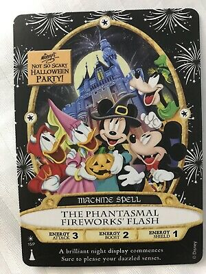 Sorcerers Of The Magic Kingdom Card 2019 Mickey's Not So Scary Halloween Party
