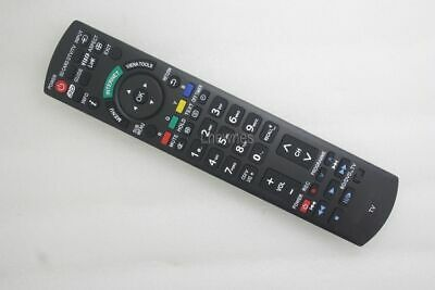 Replacement Remote For Panasonic N2QAYB000747 TH-P50UT50A TH-P65UT50A TV