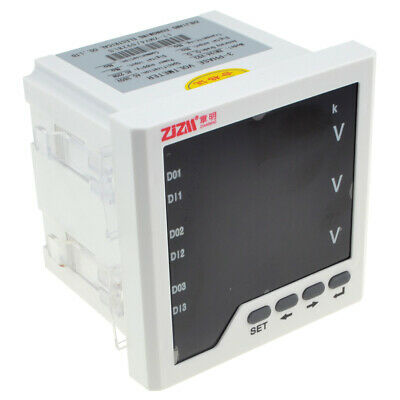 96x96mm Three-phase AC Voltage Meter Intelligent Digital Display Voltmeter