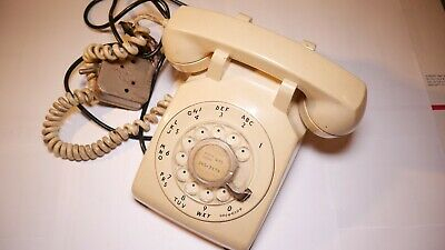 Western Electric Bell System Model 500 Rotary Dial Telephone