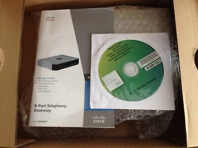 Cisco SPA8000 8-port IP Telephony Gateway VOIP