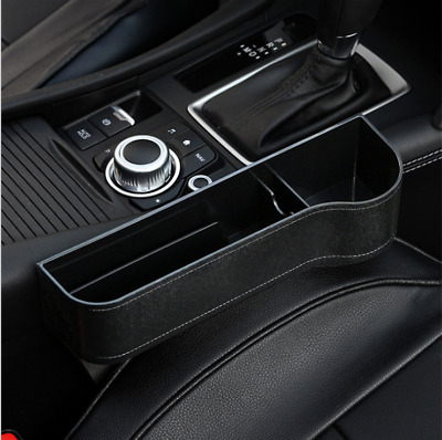 Driver Side Car Seat Crevice For Gap Catcher Storage Box Phone Cup Drink Holder