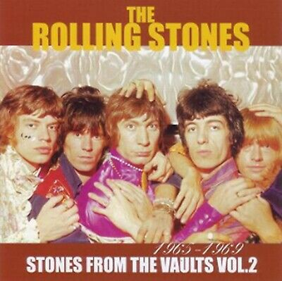 The Rolling Stones From The Vaults Vol 2 CD 2 Discs Set Music Pops Rock F/S