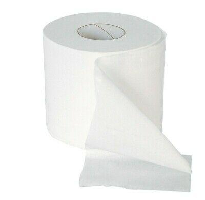 Premier White 320 Sheet 2 ply Conventional Toilet Rolls 36 per Case Bathroom Loo
