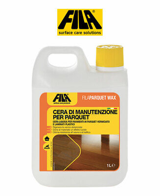 Fila Filaparquet Wax Wax of Maintenance for Parquet 1 L