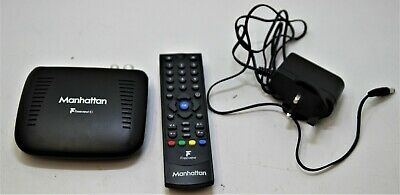 Manhattan HD Freeview Box with Remote