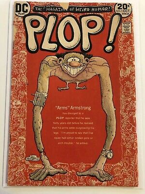 Plop 1 - 1st issue - 1973 - Wolverton Cover - Good Condition