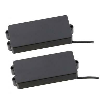 2pcs P Bass Pickup Set for 4 String Precision Bass Parts Accessories