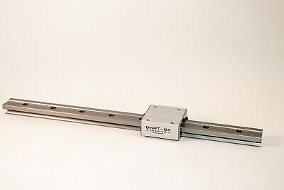 Igus Drylin TS-01-25 Square Rail 500mm with a Heavy Duty TW-2-25 Bearing