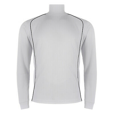 Mens Roll Polo Neck Jumper Base Layer Breathable Funnel Turtle Jersey Top Golf