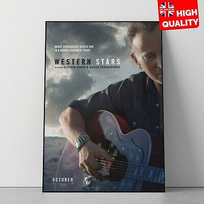 Western Stars Bruce Springsteen Thom Zimy Music Movie Poster Print | A4 A3 A2 A1