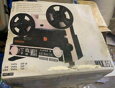 Rare Vintage CINEMAX K5L Super 8 Projector stunning condition boxed