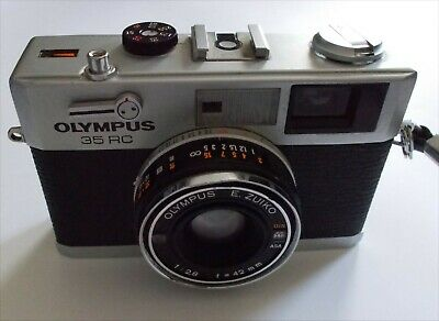 Olympus 35RC, NEVER used but slight damage