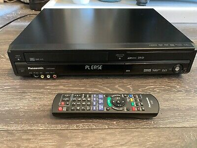 Panasonic Dmr-Ez49V Dvd Vhs Video Recorder Combi Hdmi Transfer Vhs Tape To Dvd