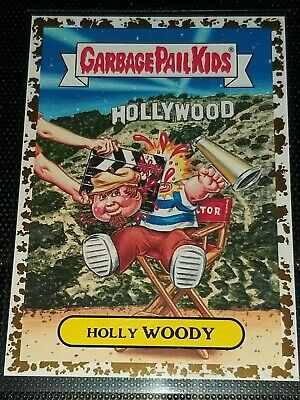 Holly Woody - Gold Dust Border Parallel 26/50 - American As Apple Pie - Gpk 2016