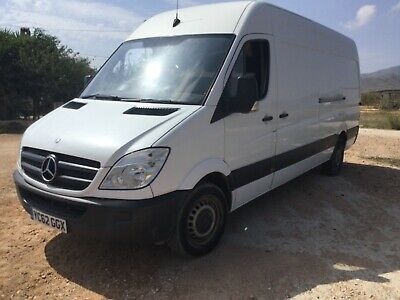 Mercedes Sprinter 313 CDi high roof LWB Twin Turbo Van - NO RESERVE NO VAT