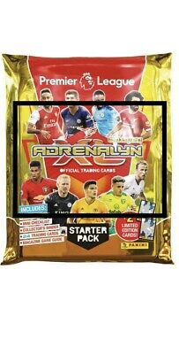 PANNI ADRENALYN 2019-2020: Starter Pack. Binder and 26 cards. Premier League