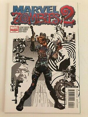 Marvel Zombies Limited Series 2, Issue 4!  Classic Nick Fury #4 by Suydam