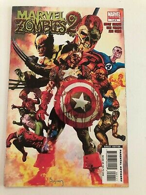 Marvel Zombies Limited Series 2, Issue 1!  Classic Suydam Cover