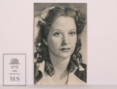 Original 1940's Cinema Movie Actress Postcard - Nº 92, Conchita Montes