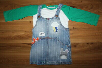 NEXT girls dress top outfit set 12-18 months *I'll combine postage*(14)