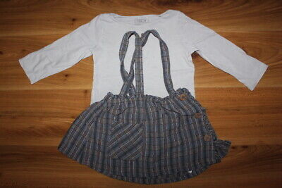 NEXT girls top skirt outfit set 12-18 months *I'll combine postage*(16)