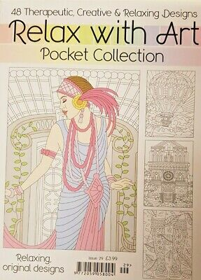 Relax With Art Magazine 2019 # 29 Pocket Collection = 48 Designs