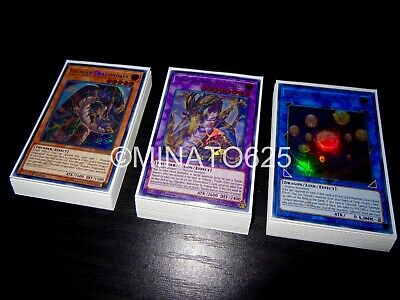 Yugioh Complete Thunder Dragon Deck! Danger Colossus Dragondark Hieratic Sphere!