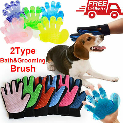 Cleaning Brush Magic Glove Pet Dog Cat Massage Hair Removal Grooming Groomer NEW