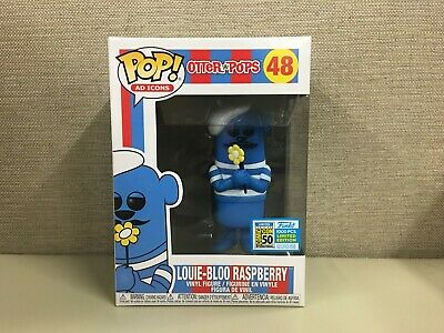 FUNKO Pop! Ad Icons: Otter Pops - Louie-Bloo Raspberry SDCC 2019 Exclusive #48