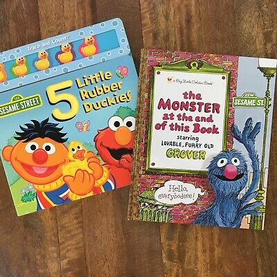 Lot 2 Sesame Street Books Little Golden