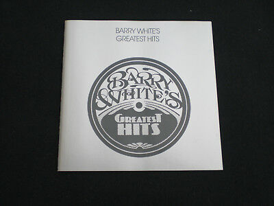Barry White - Cd  Greatest Hits