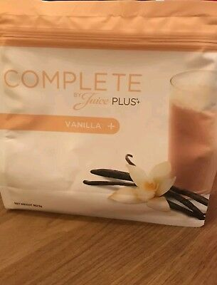 NEW!! FREE POSTAGE! Juice Plus Complete Vanilla Shakes - New and improved/sealed