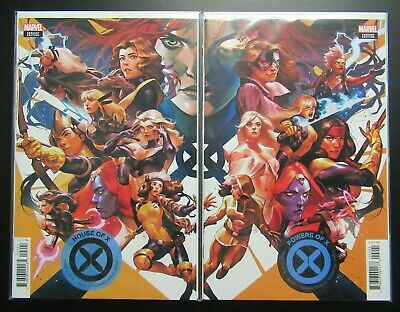 House of X #2 & Powers of X #2 Putri Connecting Variant Set NM