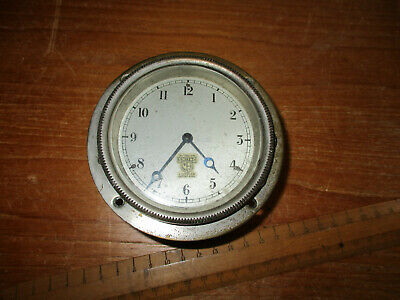 vintage SMITHS  LONDON hingded dashboard clock c1950s
