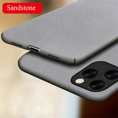 For iPhone 11 Pro X XS Max XR 8 7 6 Plus Slim Matte Frosted Hard Back Case Cover