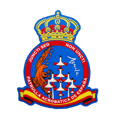 Spain Ejercito Del Aire Patch Patrulla Aguila España C-101 Velcro Hook And Loop